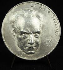 Médaille religieuse Le Père Sanson sc J H Coëffin c1960 religious 68 mm Medal