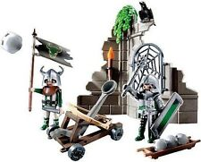PLAYMOBIL SETS 5861 and 5860 Knights CATAPULT &  KNIGHTS CROSS BOW