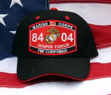 FMF CORPSMAN MOS 8404 HAT US NAVY CAP DOC USS HOSPITAL MEDEVAC CASEVAC MAR DIV