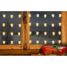 60 Led piña de pino Guirnalda de luces 6m Decoración de la Navidad iluminación