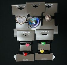NEW NATASHA NORDSTROM SET OF 5 PACK DIFFERENT STYLES HAIR TIES PONY TAIL HOLDER