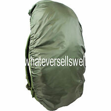 LARGE WATERPROOF BERGAN COVER backpack rucksack transit 60 - 70 litres olive