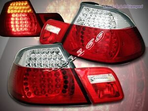 2000-2003 BMW E46 TAIL LIGHTS LED CONVERTIBLE 2001 2002