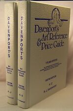 DAVENPORT'S ART REFERENCE & PRICE GUIDE: 1997/98 Edition A fine tw-volume set!