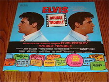 ELVIS PRESLEY DOUBLE TROUBLE LP SEALED!