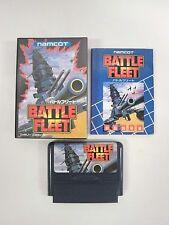 BATTLE FLEET -- Boxed. Famicom, NES. Japan game. Work fully.