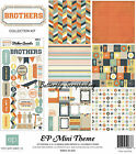 Brothers Best Friends Collection 12X12 Scrapbooking Kit Echo Park Paper Boy NEW
