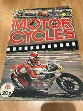1970's Album bike stickers Street Racing Moto Cross bikes Motorcycles