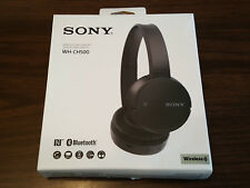 Sony WH-CH500 Stamina Wireless Headphones, Black (WHCH500/B) #8 NEW