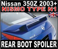 Nissan 350Z N1 Style Paintable Grey Primer Rear Boot Spoiler Z33 2003-2008