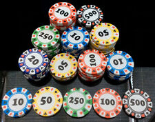 Casino Poker Chip Chocolate Coins 10 20 30 40 50 Party Bag Fillers Favour Weddin