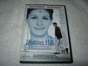 Notting Hill - Julia Roberts - VGC - DVD - R4