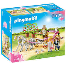 Playmobil City Life Wedding Carriage Building Set 9427 NEW Learning Toys