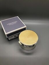 Wedgwood Vera Wang With Love Covered Gold (Pearl ) Box New In Box