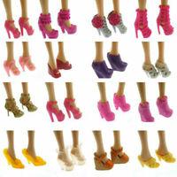 10 Artikel Party Daily Wear Dress Outfits Kleidung Q6Q1 Schuhe für Barbie-P J4A9