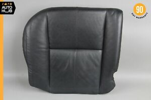 07-09 Mercedes W221 S550 S450 Rear Left Side Bottom Lower Seat Cushion Black OEM