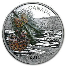 2015 Canada Silver Forests of Canada Coast Shore Pine - SKU #89676