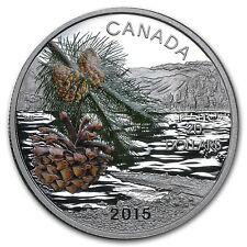 2015 Canada Silver Forests of Canada Coast Shore Pine - SKU #89676