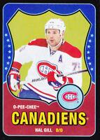 10-11 OPC Hal Gill /100 Retro Rainbow BLACK OpeeChee Canadiens 2010