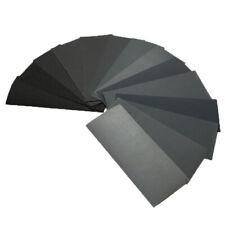 Wet Dry Sandpaper 14Pcs Sheets Grit Assortment Abrasive Paper 120 To 3000
