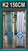 Snowboard K2 Classic Vintage Double Wide  158CM Snow Board Museum Piece Art