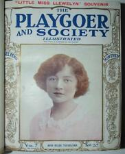 Playgoer and Society August 1912-September 1913, Harry Lauder, Panto, Pinero etc