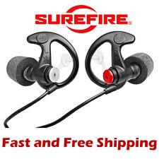 Surefire EP7 EarPro Sonic Defenders Ultra Ear Protection Black Medium w/Case