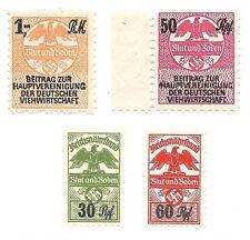 German BLOOD & EARTH Farmers stamp group-MNH-nice-WW2-3rd Reich Nazi-era Germany