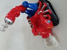 Web Strike Tank with Spiderman Figure Marvel Super Heroes Playskool Hasbro