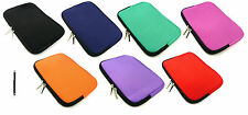 Neoprene  Sleeve Zip Case Cover Sleeve Pouch for  Android Tablet 8 Inch & Stylus