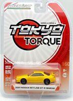 GREENLIGHT 2018 TOKYO TORQUE SERIES 4 2001 NISSAN SKYLINE GT-R (BNR34)