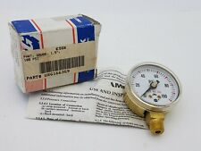 """USG 100Psi 1.5"""" Dial Compressed Gas Gauge 166359 Welding Equipment Replacement"""