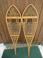 """VINTAGE Snowshoes 50"""" Long x 13"""" Wide Great for DECORATION"""