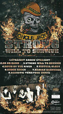 CD DIGIPACK BLUES ROCK FRANÇAIS ONCLE JACK / STRONG WILL TO SURVIVE ( NEUF )