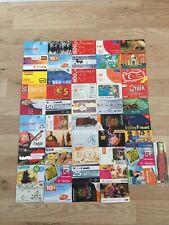 50 verschiedene Karten