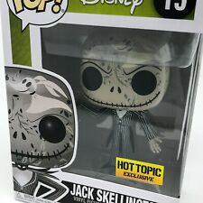 Disney - Jack Skellington Zero Skull Print #15 (Hot Topic) Funko Pop! Vinyl