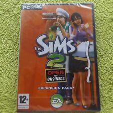 THE SIMS 2 open for Business pacchetto di espansione PC-CD Post veloce (Sigillato Nuovo di Zecca &