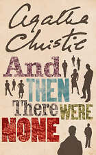 NEW And Then There Were None By Agatha Christie Paperback Free Shipping