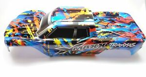 TRAXXAS X-Maxx 8S 7711T Body Rock n´ Roll Painted Laminated TXM®