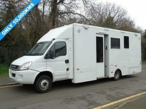 2010 10 IVECO DAILY 65C18 3.0TD 176 BHP MOBILE OFFICE INCIDENT UNIT/EXHIBITION D