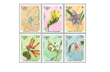 KUB8003 Flowers of dunes 6 pcs MNH 1980