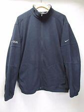 Nike Therma-Fit Top Gun Navy Zip Front Fleece Jacket Men's XL  M30