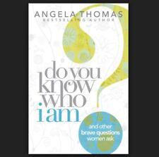 DO YOU KNOW WHO I AM? by Angela Thomas FREE SHIP paperback book Christian women