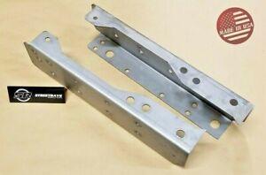 [SR] 93-04 Ford Ranger Rear Frame Weld-On Rot / Fix / Repair Channels (PAIR)