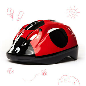 3StyleScooters® Cycle Helmet - Kids Ladybird Safety Helmet - Ages 3 to 6