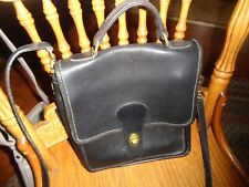 New listing vintage coach purse black preowned