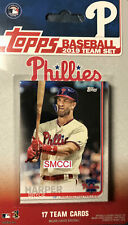 Philadelphia Phillies 2019 Topps Factory Sealed Team Set FIRST Bryce Harper card