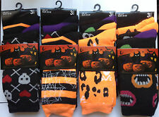12 Pairs Sockaholic Ladies Womens Summer Cotton DESIGNER Socks UK 4-7 EU 35-39 Halloween