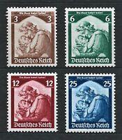 DR Nazi Germany WWII Rare WW2 Stamps 1935 Saarland Vote Plebiscite Referendum