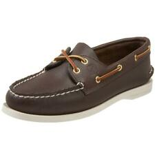 Sperry Top-Sider Auhentic Original Womens Brown Boat Shoes